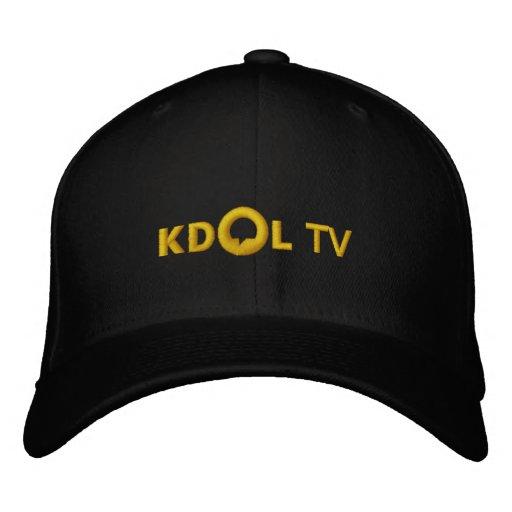 KDOL Fernsehen gestickter Hut Bestickte Baseballmützen