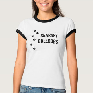 Kearney Bulldoggen Pawprint T-Shirt