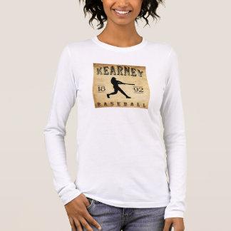 Kearney Nebraska Baseball 1892 Langarm T-Shirt