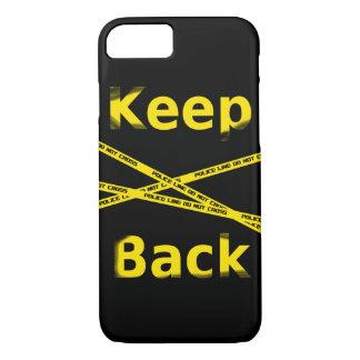 Keep Back Crime Scene iPhone 8/7 Hülle