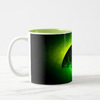 keep calm and drink tea - asia edition - green tea zweifarbige tasse