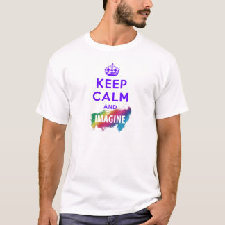 Keep Calm stellt and vor T-Shirt
