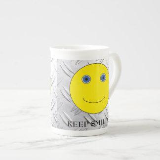 Keep Smiling Porzellan-Tassen