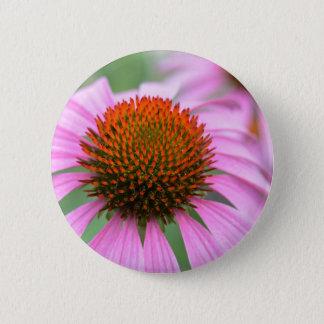Kegel-Blume Runder Button 5,7 Cm