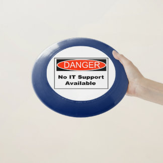 Kein ES Stützverfügbares Gefahrenzeichen Wham-O Frisbee