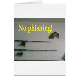 Kein Phishing! Karte