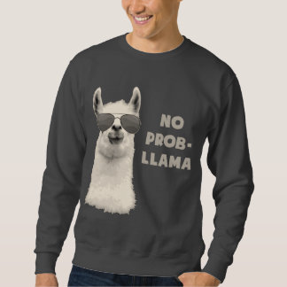 Kein Problem-Lama Sweatshirt