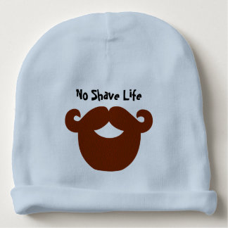 Kein Rasur-Leben-kundenspezifischer BabyBeanie Babymütze