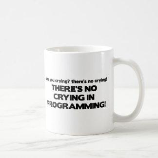 Kein Schreien bei der Programmierung Tasse