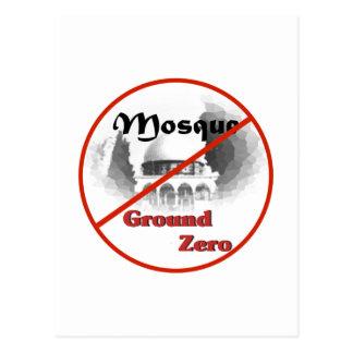 Keine Bodennullpunkt-Moschee Postkarte