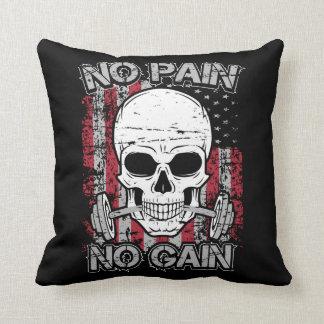 Keine Schmerz kein Gewinn Kissen