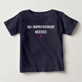 Keine Verbesserung benötigt Baby T-shirt