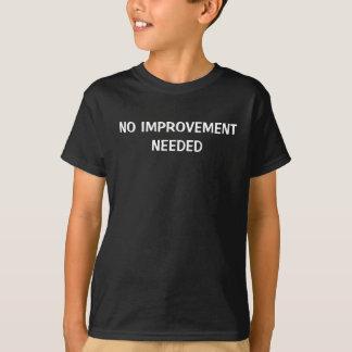 Keine Verbesserung benötigt T-Shirt