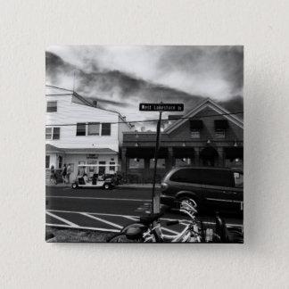 Kelleys Straßen-Foto-Knopf Insel-, Ohio Quadratischer Button 5,1 Cm