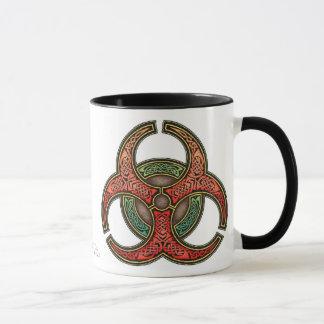 Keltische Knüpfarbeit-Biogefährdung-Tasse Tasse