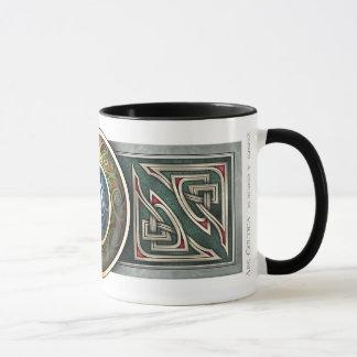 Keltische Knüpfarbeit-Entwurfs-Tasse Tasse