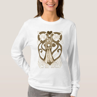 Keltische Königin der Herzen T-Shirt