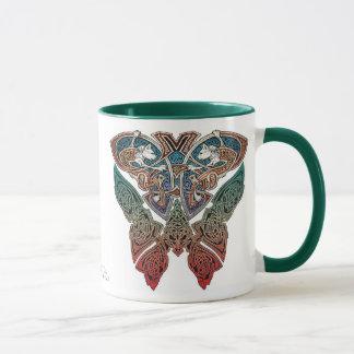 Keltische Kunst-Katzen-Tasse Tasse