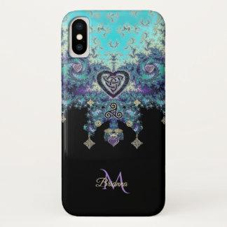 Keltischer Herz Triskele Fraktal Design iPhone X iPhone X Hülle