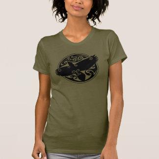 Keltischer Rabe Tshirt