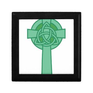 Keltisches Kreuz Kleine Quadratische Schatulle