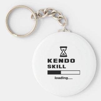 Kendo Fähigkeit Laden ...... Standard Runder Schlüsselanhänger