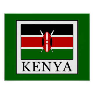 Kenia Poster