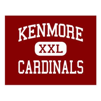 Kenmore - Kardinäle - Highschool - Akron Ohio Postkarte