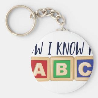 Kennen Sie mein ABC Schlüsselanhänger