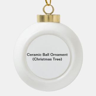 Keramik-Ball-Verzierung (Weihnachtsbaum) Keramik Kugel-Ornament