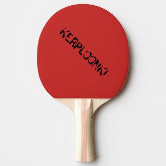 """""""Kerploonk"""" Klingeln Pong Paddel Tischtennis Schläger"""
