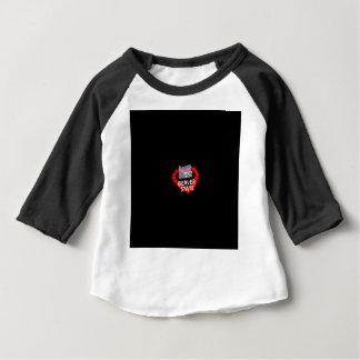 Kerzen-Herz-Entwurf für den Staat von Oregon Baby T-shirt