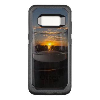 Kerzenlicht-Sonnenuntergang OtterBox Commuter Samsung Galaxy S8 Hülle