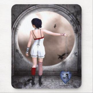 Ketten Sie meine Herz-gotische Kunst los Mousepad