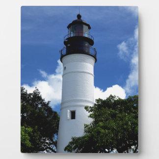 Key West-Leuchtturm Fotoplatte