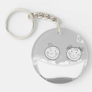 Keychain mit Kleinkindern Schlüsselanhänger