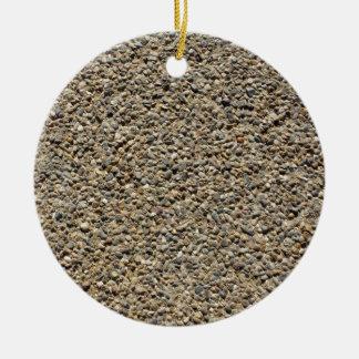 Kies-u. Sand-Foto Keramik Ornament