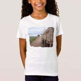 Kiesbahnlandschaftshimmel Ute der Reise BRB T-Shirt