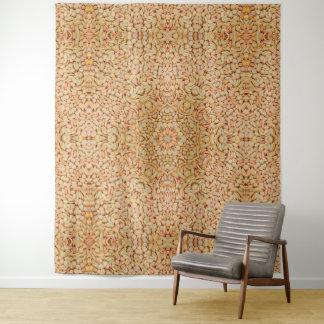 Kiesel-Vintage Kaleidoskop-Wand-Tapisserie Wandteppich