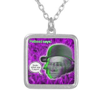 Kiffer-Halskette Halskette Mit Quadratischem Anhänger