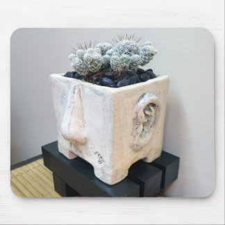 """Kiffer"" mit Kaktus durch saftige Entwürfe Mousepads"