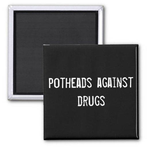 Kiffern gegen Drogen Magnets