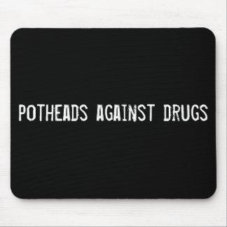 Kiffern gegen Drogen Mauspad