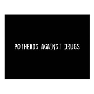 Kiffern gegen Drogen Postkarten