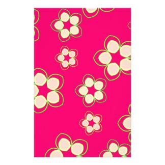 Kimono-Rosen-Rosa-Lotos Briefpapier