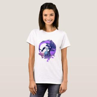 Kind mit Bettdecke im Traumland T-Shirt