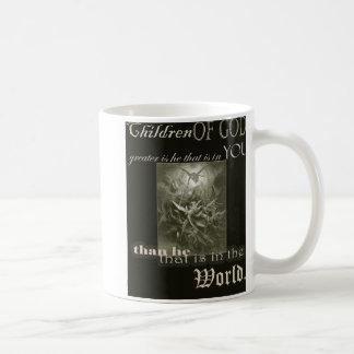 Kinder der Gott-Kaffee-Tasse Tasse
