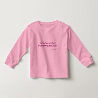 Kinder-Shirt Kleinkinder T-shirt
