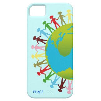 Kinder um die Welt retten den Planeten-Frieden Etui Fürs iPhone 5