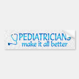 Kinderärzte machen es besser autoaufkleber